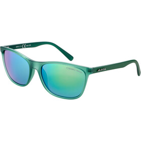 Alpina Jaida Lunettes, green transparent matt/green mirror